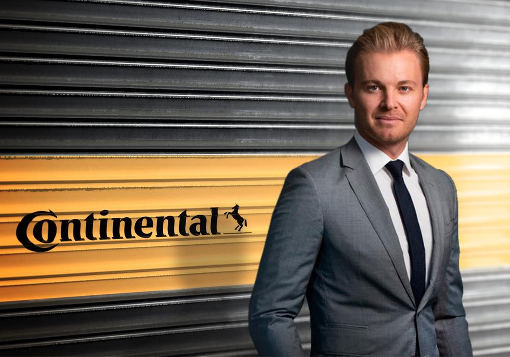 Nico Rosberg ambassadeur van Continental