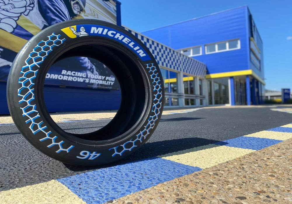 Michelin onthult duurzame raceband