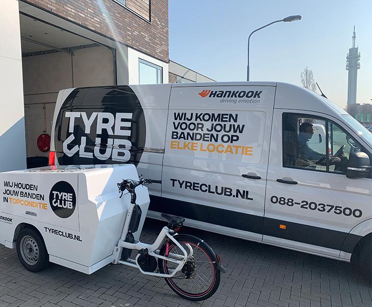 'Tyre Club' en Hankook Tire samen in bandenservice-abonnement