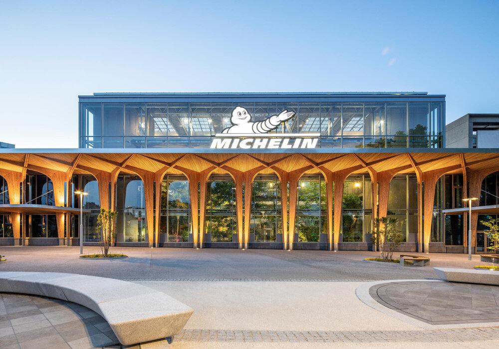 Michelin opent nieuw receptiegebouw bij hoofdkantoor
