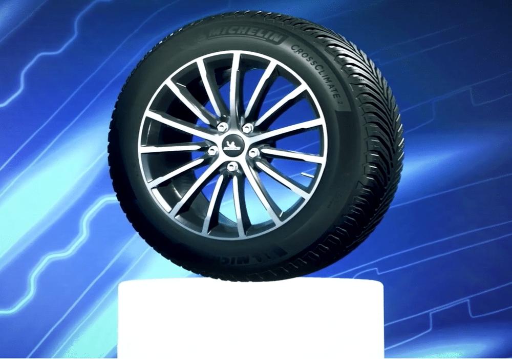Michelin onthult opvolger van Crossclimate