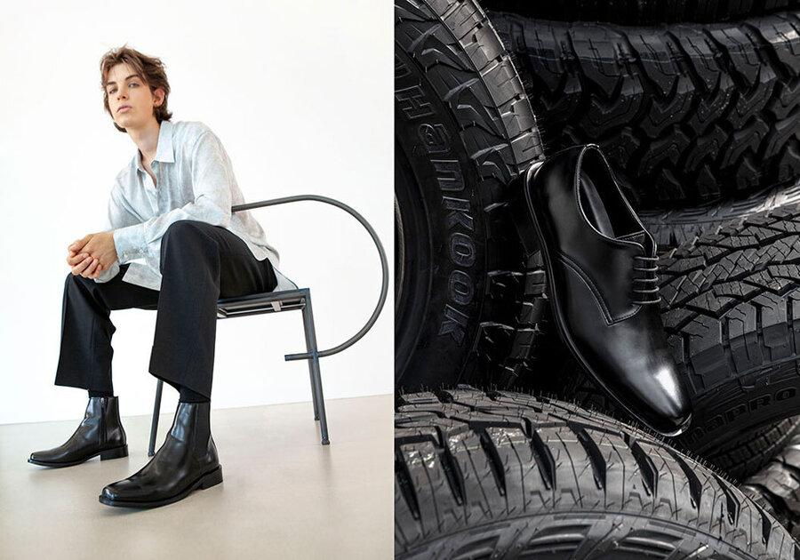 Hankook lanceert schoenen van gerecycled rubber