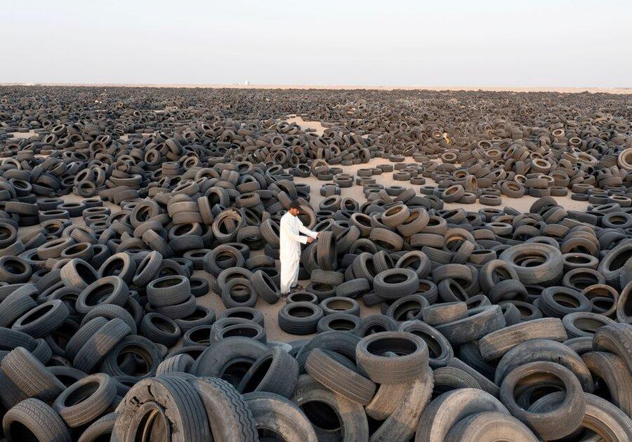 Koeweit begint zee aan banden te recyclen